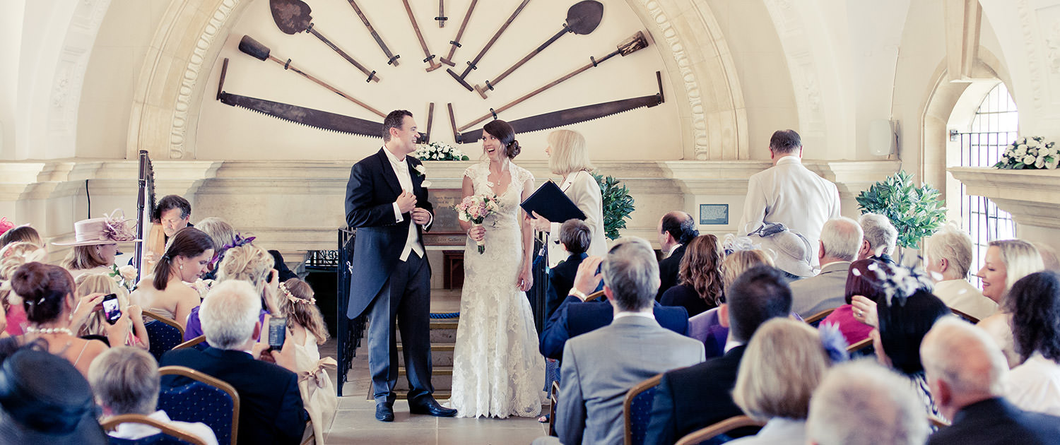 Marriage Ceremony at the Back End of the Normanton Church